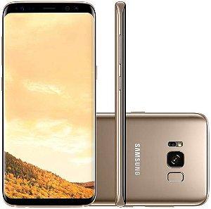 "Smartphone Samsung Galaxy S8 64GB LTE 1 Sim 5.8"" - Dourado"