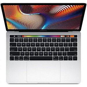 "Macbook Apple Pro Touch Bar i5 2.3GHZ-8GB-256GB 13.3"" Prata"