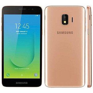 "Smartphone Samsung Galaxy J2 Core 16GB Dual Sim 5.0"" Dourado"