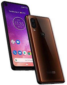 """Smartphone Motorola One Vision Dual Sim 6.3"""" 128GB - Marrom"""