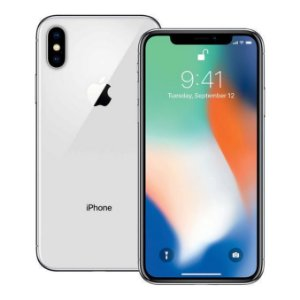 "Smartphone Apple iPhone X 256GB 5.8"" - Prata"