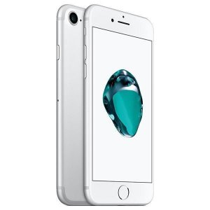 "Smartphone Apple iPhone 7 128GB 4.7"" - Prata"