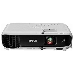 Projetor Epson Powerlite S41+ 3300 Lumens Bivolt Branco