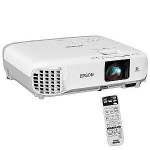 Projetor Epson Powerlite S39 de 3.300 Lumens Branco