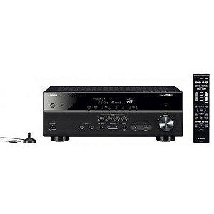 Receiver Yamaha RX-V585 7.2CH HDMI 4K Bivolt Preto