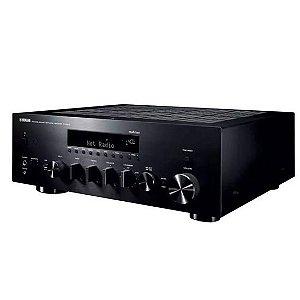 Receiver Yamaha R-N803 Stereo Bivolt Wifi/Bluet. 140W Preto