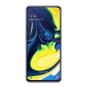 "Smartphone Samsung Galaxy A80 128GB Lte Dual Sim 6.7"" - Preto"