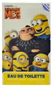 Perfume Air-Val Minions Despicable Me 3 EDT Infantil 100ml