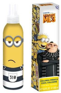 Perfume Air-Val Minions Despicable Me 3 EDC Infantil 200ml