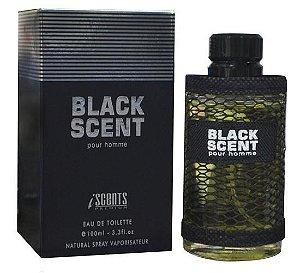 Perfume Iscents Black Scent  EDT M 100mL