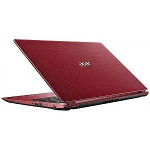 """Notebook Acer A315-31-C8WK Cel 1.1GHZ-4GB-500GB 15.6"""" Vermelho"""