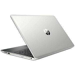 """Notebook HP 15-DA0087CL i3 2.20GHZ/4GB/2TB+16GB 15.6 """" Prata"""