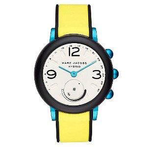 Relogio Smartwatch Marc Jacobs MJ1007 - Amarelo/Azul