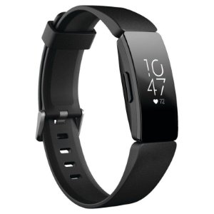 Pulseira Smartwatch Fitbit Inspire HR Fitness Tracker - Preto