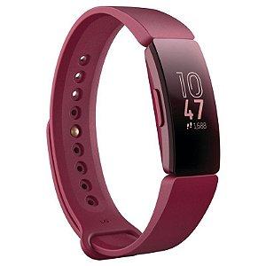 Smartwatch Fitbit Inspire Fitness Tracker - Roxo