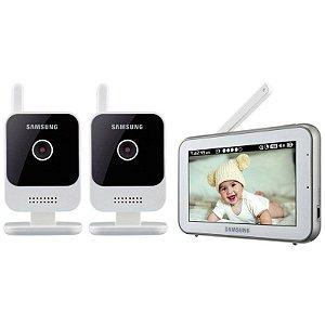 Babá EletrÔnica Samsung SEW-3042W - 2 Cameras - 5 Polegadas
