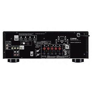 Receiver Yamaha RX-V385 5.1CH HDMI 4K Bivolt - Preto