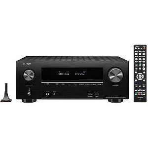 Receiver Denon AVR-X2600H 7.2CH Ultra HD 4K - Preto