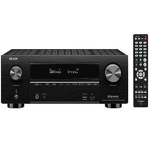 Receiver Denon AVR-S750H Wifi/Bluetooth 4K/7.2CH 110v