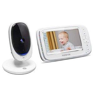 Babá Eletrônica Motorola CONFORT50 2.4GHZ 1 Camera Branco