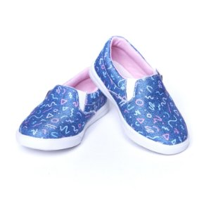 Tenis Jeans Slip On. Exclusivo Sapattini!