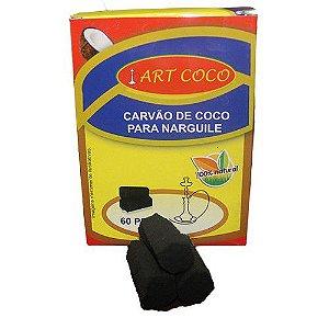 CARVAO ARTCOCO HEXAGONAL 1KG