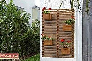 Breeze Floral Com 4 Cachepôs