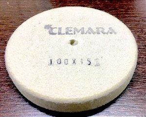 RODA DE FELTRO CLEMARA 100 X 10MM    cod:460
