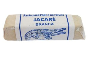 """MASSA """"JACARÉ"""" BRANCA 400g    cod:2801"""