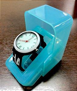92547f5a944 Estojo de Relógio em PVC Azul Translúcido Especial