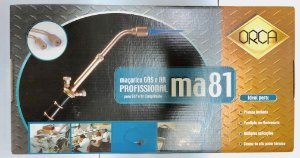 """MAÇARICO """"ORCA"""" MA81 GAS E AR COMPRIMIDO  cod:1559"""