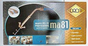 "MAÇARICO ""ORCA"" MA81 GAS E AR COMPRIMIDO"