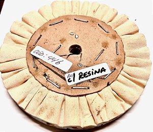 """ESCOVA VENTILADA 6"""" COM RESINA """"Euro""""  cod:446"""