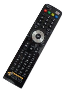 Controle Remoto para Audisat E10 Full HD