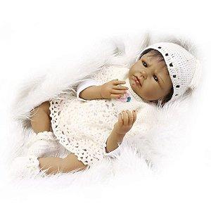 Linda Bebe Reborn Gorrinho