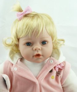 Bebe Reborn Maria Laura com 55Cm - Pronta Entrega