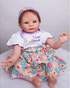 Bebe Reborn Giorgia com 55CM