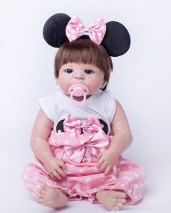 Bebe Reborn Minnie Exclusiva 2017 - Pronta Entrega Exclusivo