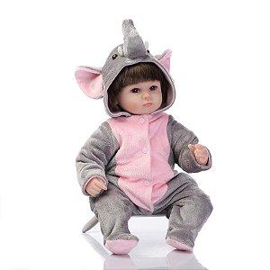 Bebê Reborn Elefantinho - Lançamento Exclusivo 2017