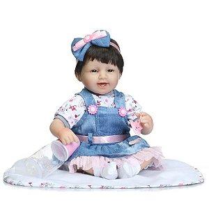 Linda Boneca Bebê Reborn Rafaela