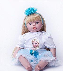 Exclusiva Bebê Reborn Frozen - Let It Go!