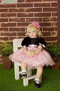 Bebê Reborn Adele de 55 cm