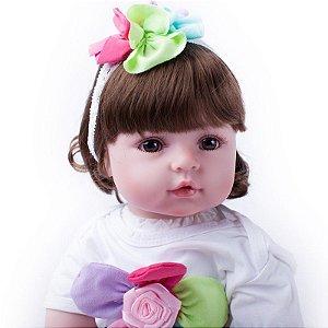 Bebe Reborn Suzi com 55cm Exclusiva da Loja da Bebe Reborn - Pronta Entrega!
