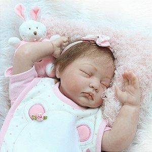 Bebe Reborn Angelina Realista Lançamento 2017