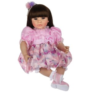 Bebe Reborn Laura Doll Violet Realista com 50cm,  Pronta Entrega