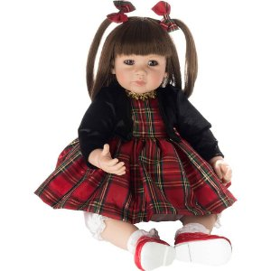 Boneca Bebe Realista Laura Doll Red Chess - Pronta Entrega