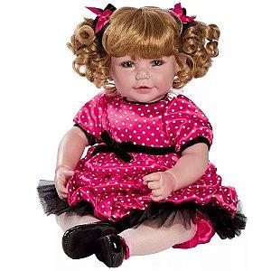 Bebê Reborn Polka Dotty Pronta Entrega! - Coleção Adora Doll