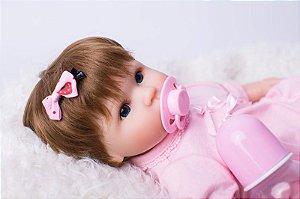 Bebe Reborn Isabel com 40cm - Pronta Entrega