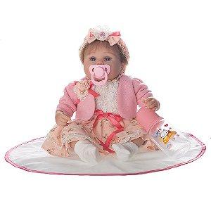 Bebe Reborn Giovana Baby - Pronta Entrega
