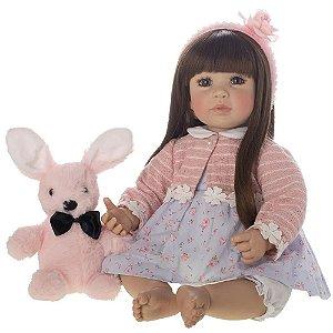 Bebe Reborn Boneca Laura Doll Luiza - Lançamento!